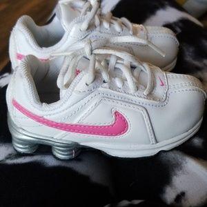 Baby girl size 6 Nike Shox